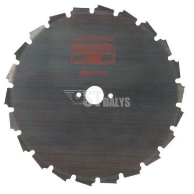 Krūmų peilis 22 dantukų200-20mm.