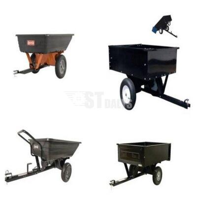 Sodo traktoriukų priekabėlės